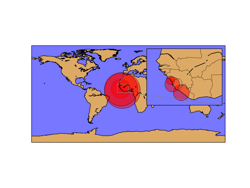 Multiple maps using subplots — Basemap tutorial 0 1