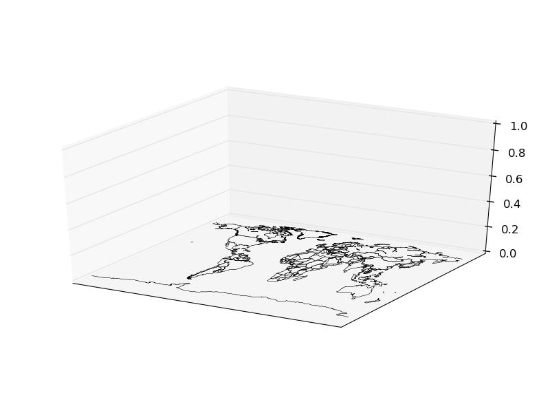 Basemap in 3D — Basemap tutorial 0 1 documentation